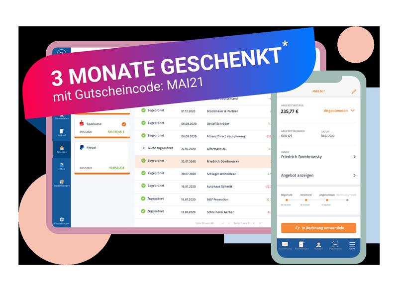 WISO MeinBüro Auftragsabwicklung Rabattaktion