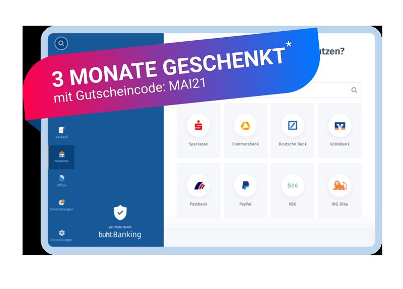 WISO MeinBüro Banking & Finanzen Rabattaktion