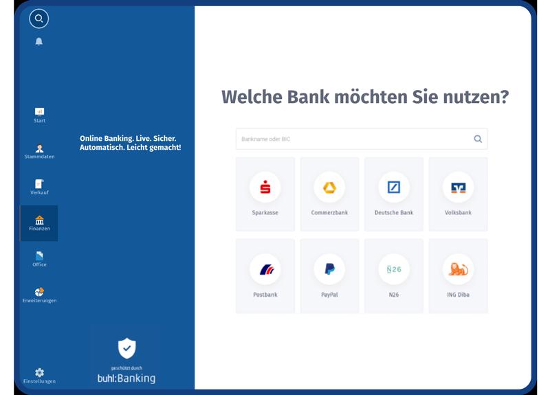 WISO MeinBüro - Banking und Finanzen