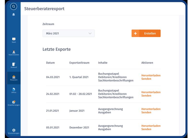 WISO MeinBüro - Buchhaltung und Steuern