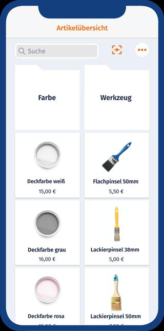 MeinBüro: Intuitive Nutzeroberfläche für schnelles Kassieren