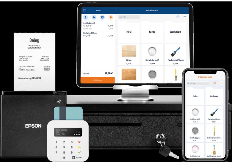 MeinBüro: Ideale Kassenhardware für Ihren Betrieb