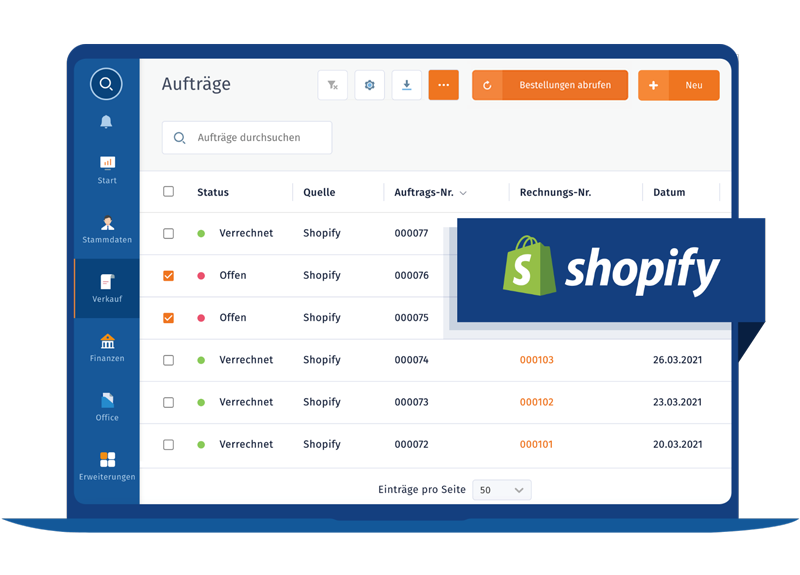 MeinBüro Shopify