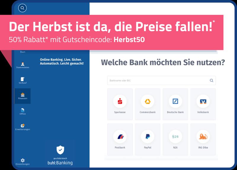 WISO MeinBüro Banking & Finanzen 50% Rabattaktion