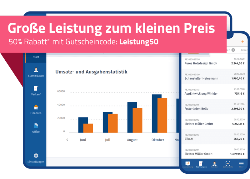 WISO MeinBüro 50% Rabattaktion