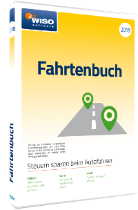 WISO Fahrtenbuch 2018 Packshot