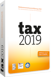 Packshot tax 2019