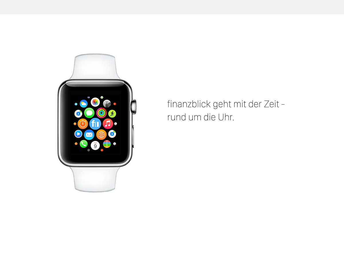 finanzblick für Apple Watch Ende