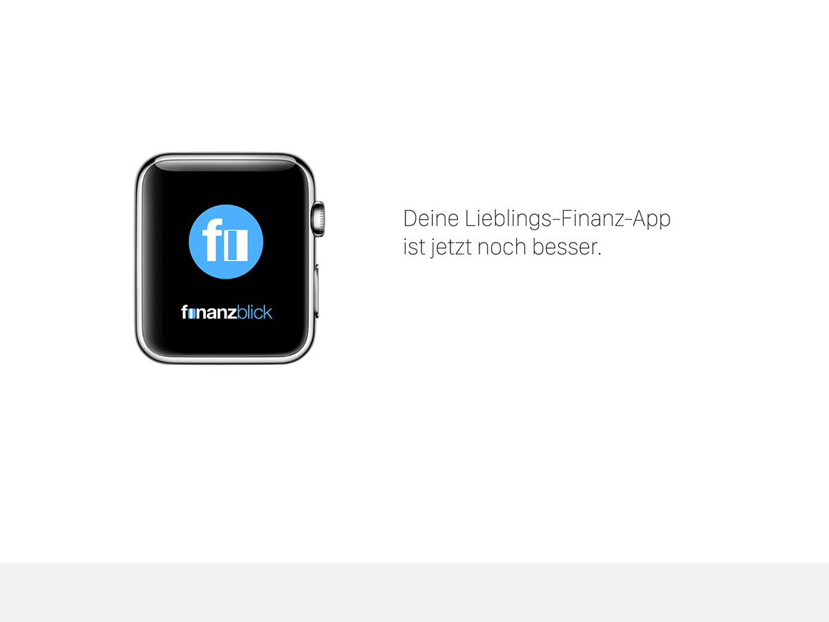 finanzblick fuer Apple Watch