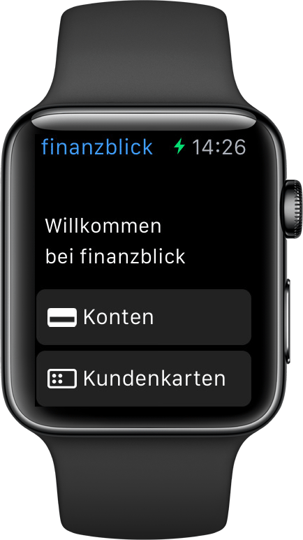 Online-Banking Smartwatch Apple Watch iOS finanzblick
