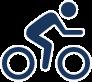 Icon Radfahrer