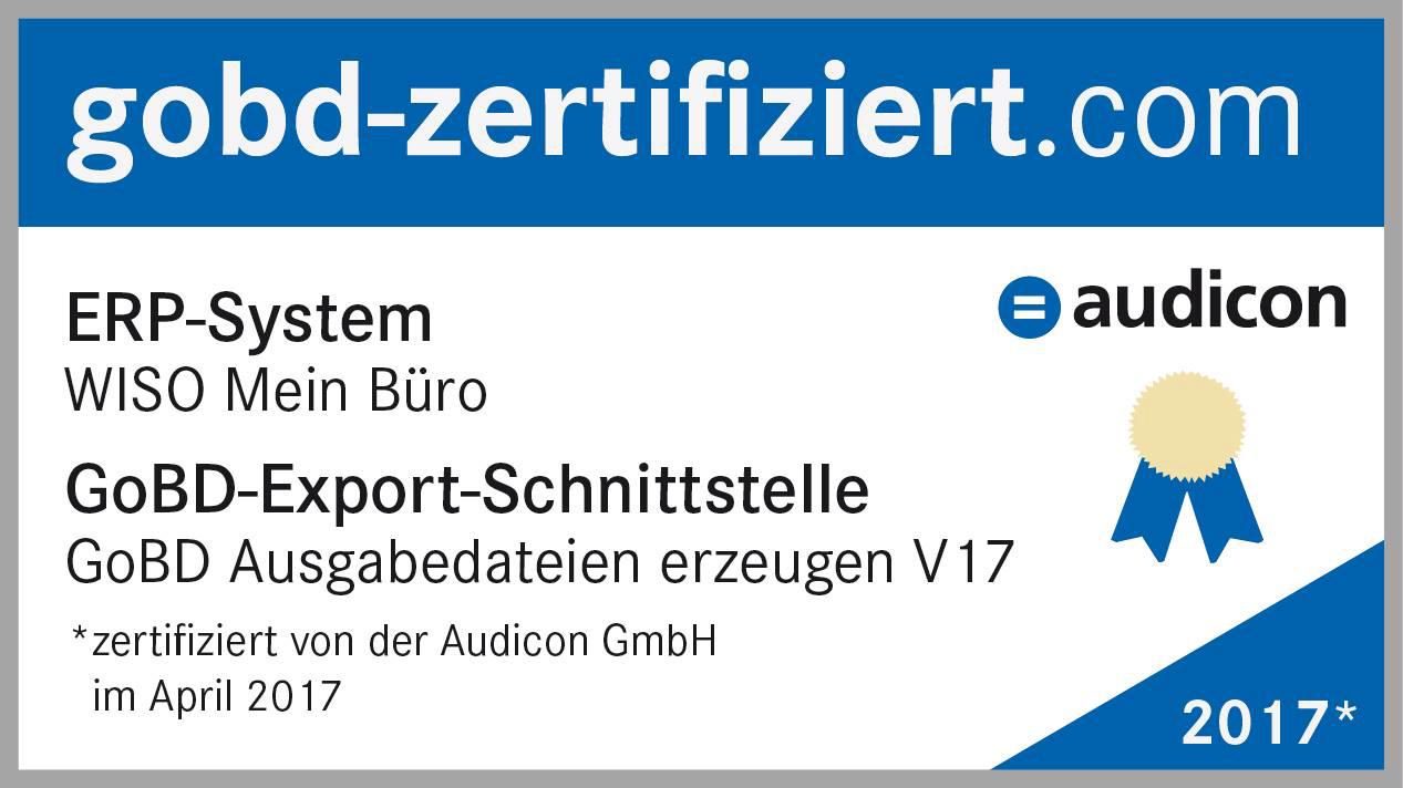 GoBD-Zertifikat