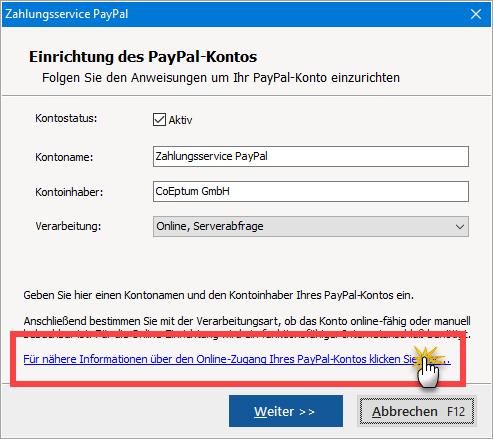 PayPal-Konto hinzufügen