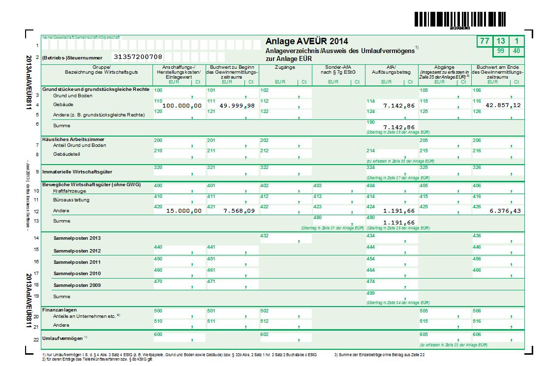 Anlagenverzeichnis & Abschreibung: So geht\'s | WISO Mein Büro