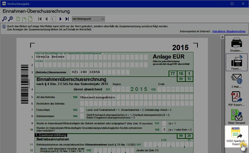 steuer-Stichtag Einnahmen-Überschussrechnung