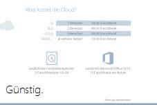 Cloud günstig WISO Mein Büro