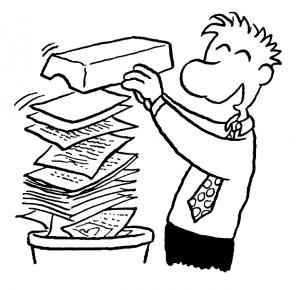 welche Dokumente schreddern WISO Mein Büro
