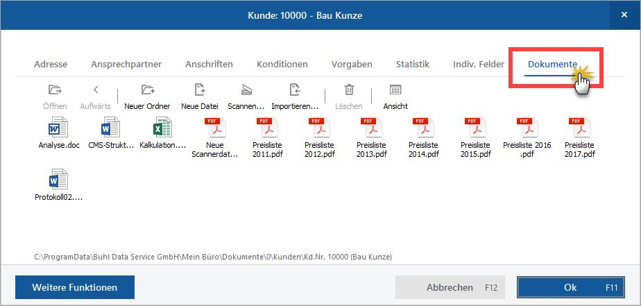 Dokumente schreddern WISO MeinBüro