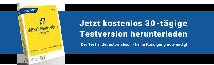Jetzt 30 Tage kostenlos Bürosoftware testen