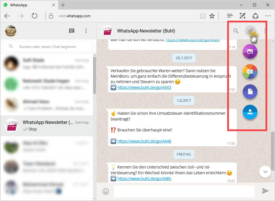 Whatsapp auf PC Anlagen