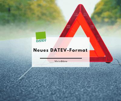 Neues DATEV-Format