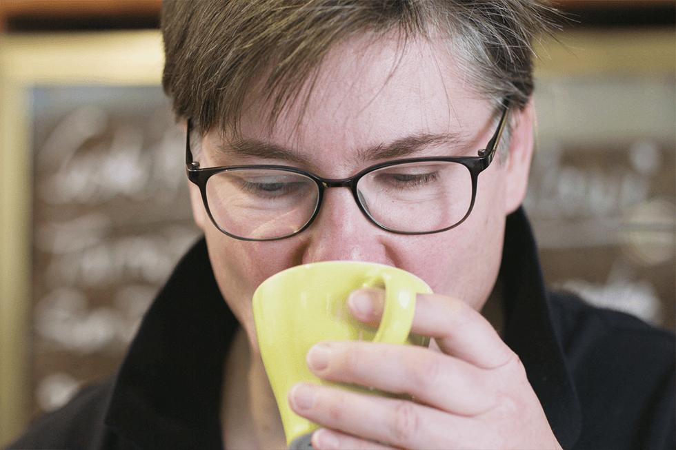 Kaffee trinken für die Kundenstimme Kaffeekontor Bonn MeinBüro