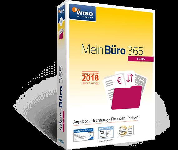 MeinBüro Version 2018 Packshot