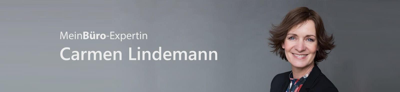 Carmen Lindemann: Expertin für MeinBüro Bürosoftware