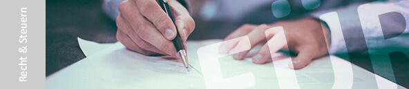 MeinBüro-Blog Kategorie Recht & Steuern