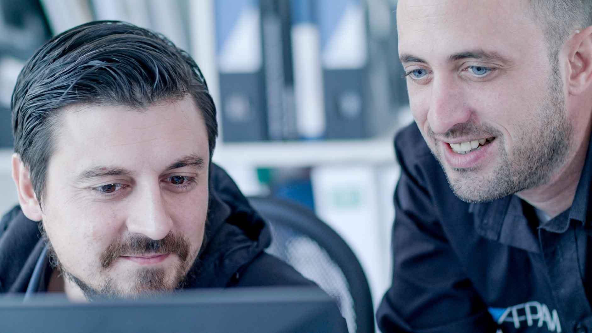 Kundenstimme AFPAM Dortmund Referenz arbeiten mit MeinBüro und mehreren Mitarbeitern