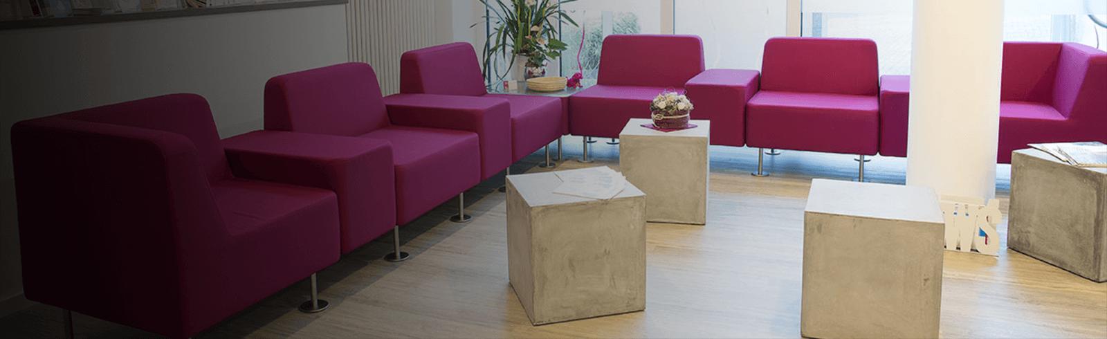 Dermamelius Institut in Siegen begrüßt alle Gäste in einem schicken Ambiente