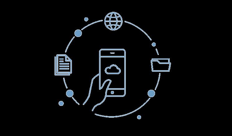 Maximale Unabhängigkeit mit der Cloud von MeinBüro