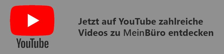 Link zu unserem Youtube-Kanal MeinBüro