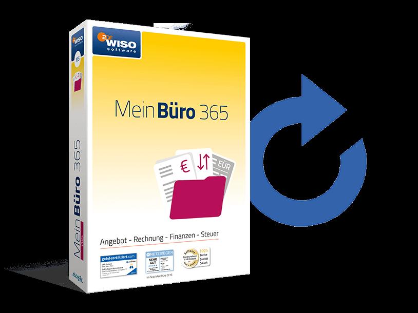 Kostenlose Software-Updates mit MeinBüro