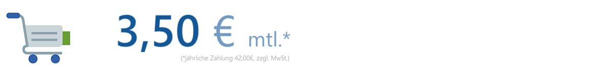 Was kostet das Modul Webselling von MeinBüro?