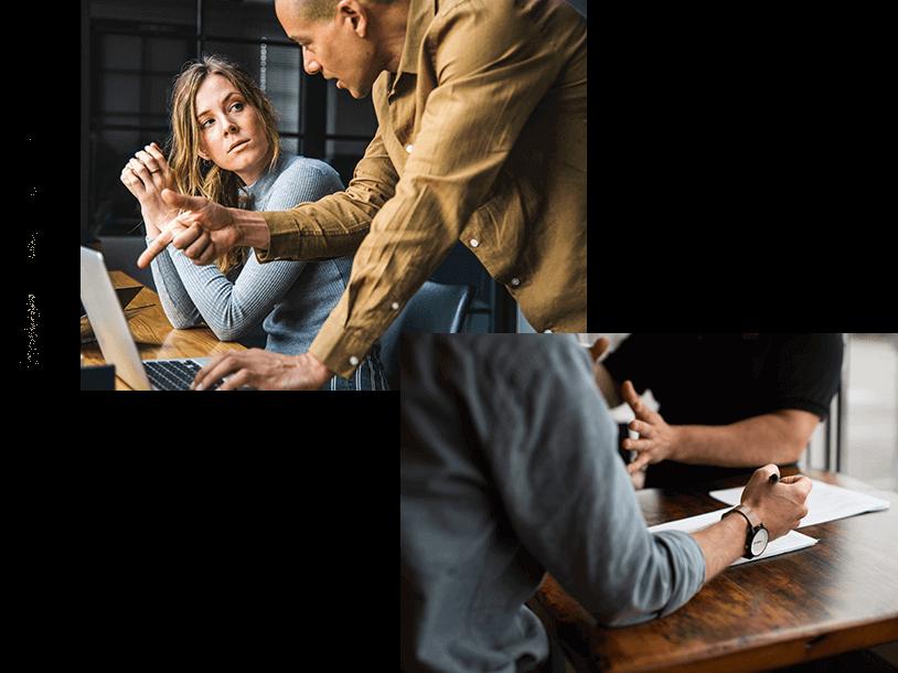 Persönliche Beratung sowie individuelle Schulungen rund um MeinBüro