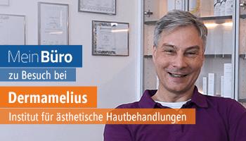 Einsatz in einer Praxis: MeinBüro in der täglichen Verwendng bei Dermamelius in Siegen