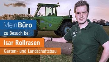 Wachsen mit MeinBüro: Kundenstimmt von Isar Rollrasen