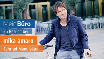 MeinBüro zu Besuch bei Mika Amaro in Köln , Kundenstimme