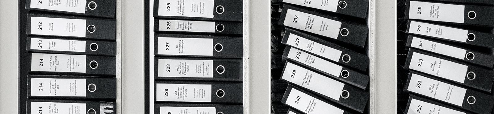 """Vielseitig nutzbar: Dokumenten-Ablage in <span class=""""text-thin"""">Mein</span>Büro"""