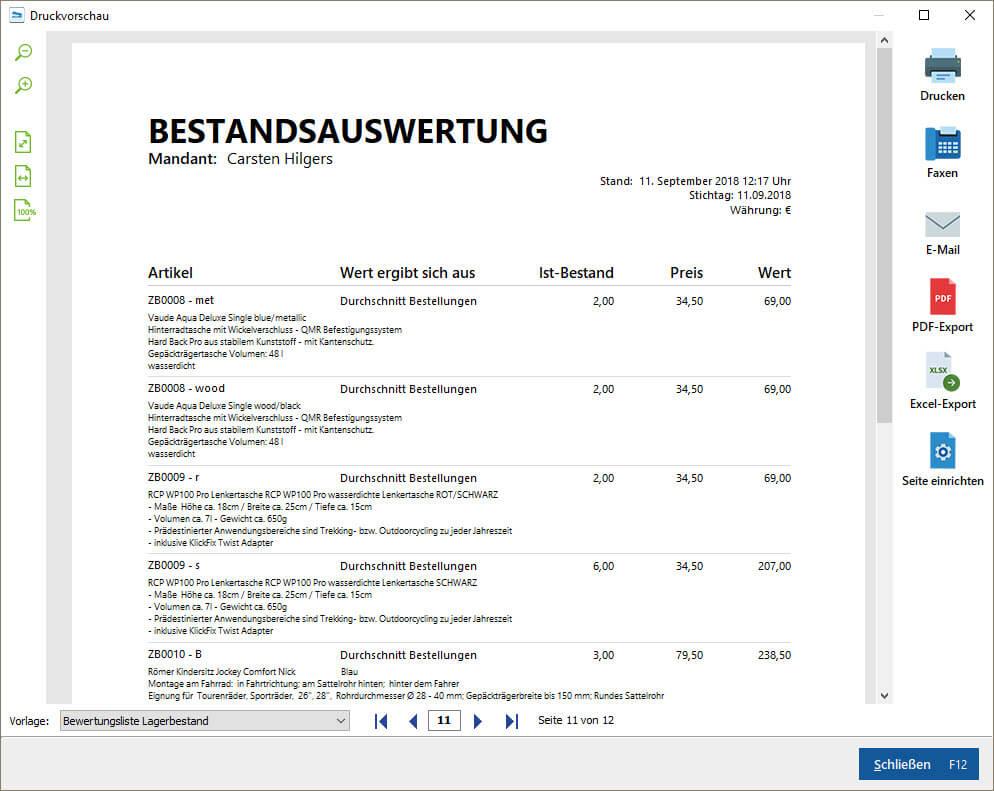 Lagerverwaltung & Lagerverwaltungssoftware | MeinBüro