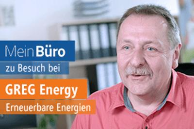 MeinBüro zu Besuch bei GREG Energy GmbH