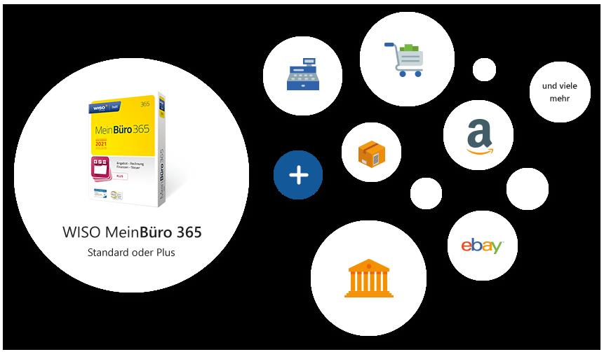 Ideale Bürosoftware für Gründer, Selbstständige und Unternehmen jeder Größe.