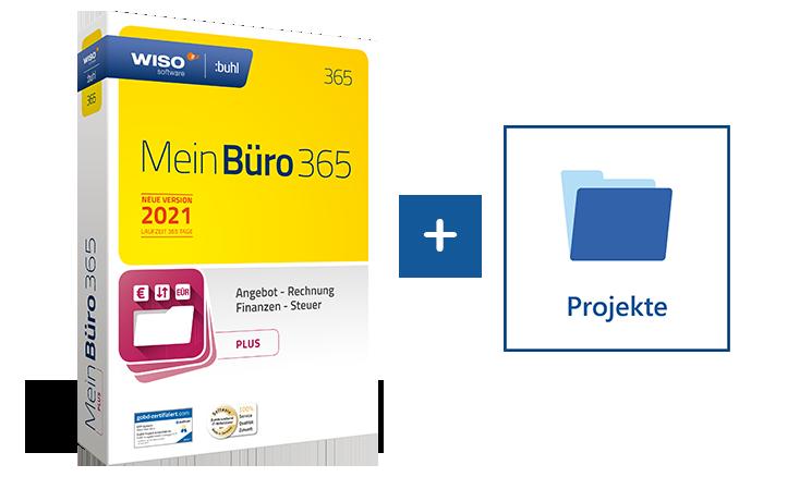 Projekte verwalten mit MeinBüro und dem Modul Projekte