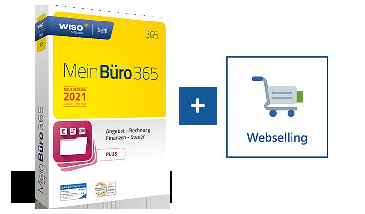 Webshop an die Buchhaltungssoftware anbinden mit MeinBüro und dem Modul Webselling