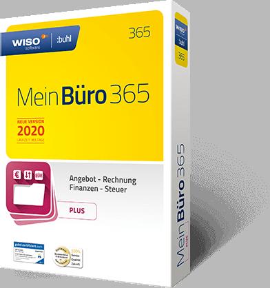 MeinBüro Version 2019 Packshot