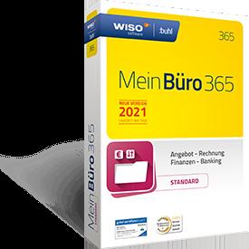 Packshot der Bürosoftware WISO MeinBüro STANDARD