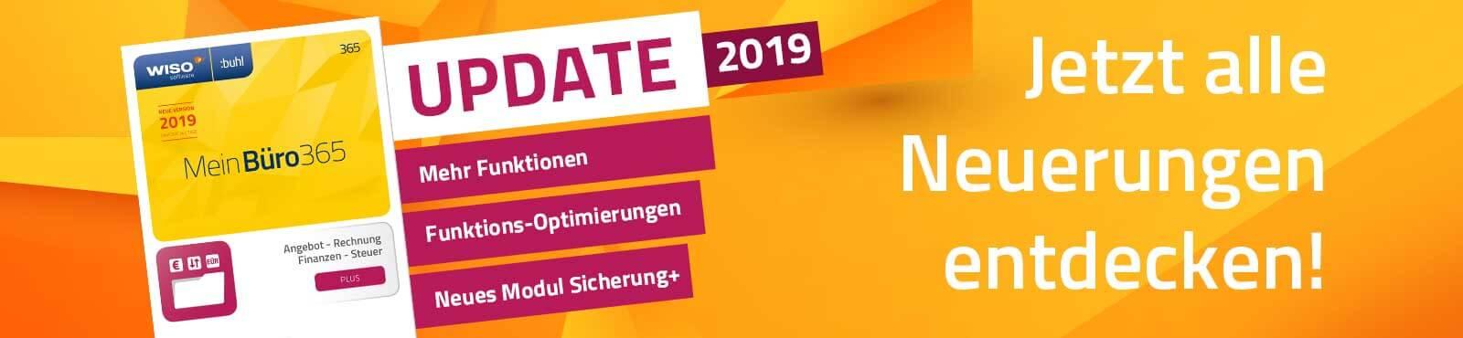 MeinBüro Update 2019