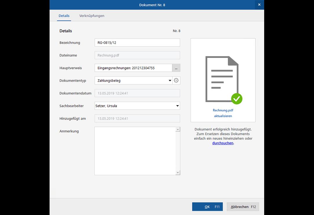 Dokumentenmanagement: Dokumente intelligent importieren