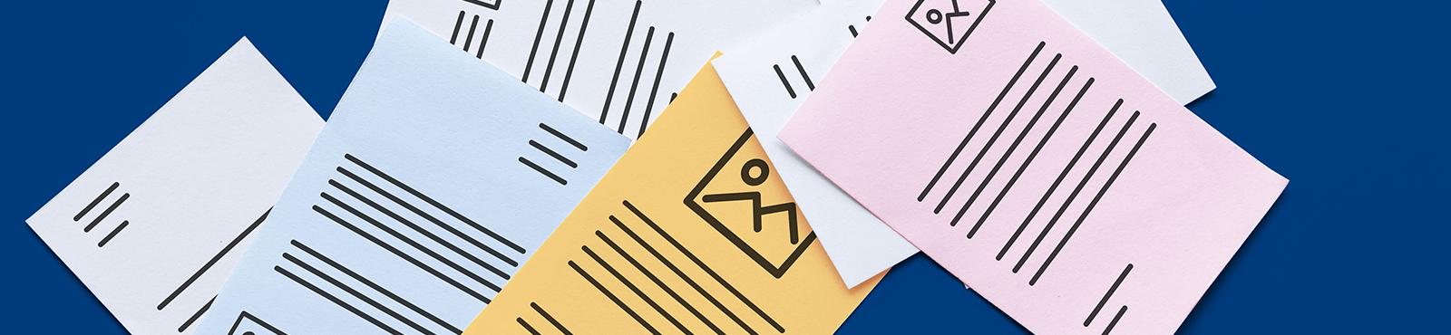 """<span class=""""text-thin"""">Mein</span>Büro-Highlight: Mehrere Briefpapiere einsetzen"""